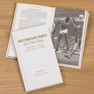 Personalised Nottingham Forest On This Day Football History Book
