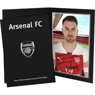 Personalised Arsenal FC Ramsey Autograph Photo Folder