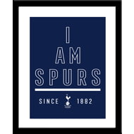 Personalised Tottenham Hotspur FC I Am Framed Print
