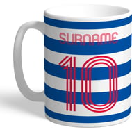 Personalised Queens Park Rangers FC Retro Shirt Mug
