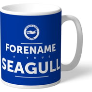 Personalised Brighton & Hove Albion True Mug