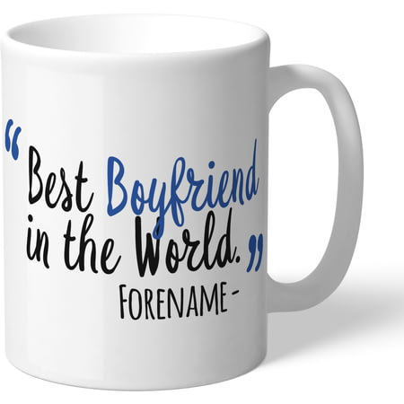 Personalised Sheffield Wednesday Best Boyfriend In The World Mug