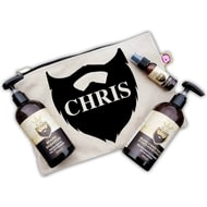 Personalised Beard Grooming Kit Gift Set
