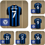 Personalised Rochdale AFC Dressing Room Shirts Coasters Set of 6