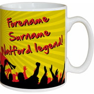 Personalised Watford FC Legend Mug