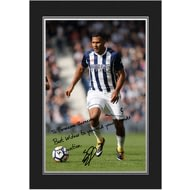 Personalised West Bromwich Albion FC Rondon Autograph Photo Folder