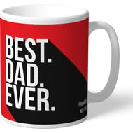 Personalised Sheffield United Best Dad Ever Mug