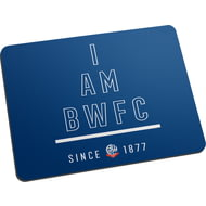 Personalised Bolton Wanderers I Am Mouse Mat