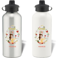 Personalised Disney Princess True Belle Aluminium Water Bottle