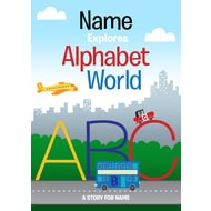 Personalised Alphabet World Story Book