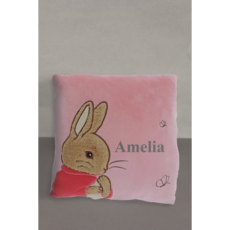 Personalised Peter Rabbit Flopsy Bunny Cushion