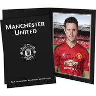 Personalised Manchester United FC Herrera Autograph Photo Folder