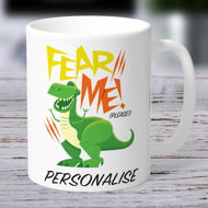 Personalised Toy Story 4 Fear Me Please Ceramic Mug