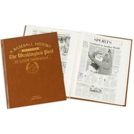 Personalised St Louis Cardinals Baseball Newspaper Book