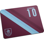 Personalised Burnley FC Stripe Mouse Mat