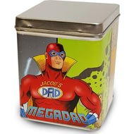 Personalised Mega Dad Tea Tin