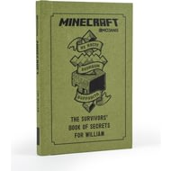Personalised Minecraft: The Survivor's Book Of Secrets