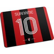 Personalised AFC Bournemouth Retro Shirt Mouse Mat