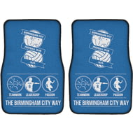 Personalised Birmingham City FC Way Front Car Mats