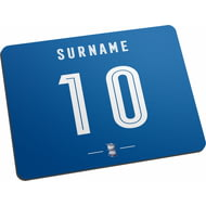 Personalised Birmingham City Retro Shirt Mouse Mat