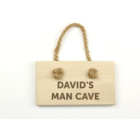 Personalised Engraved Wooden Sign