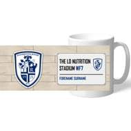 Personalised Featherstone Rovers Street Sign Mug