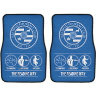 Personalised Reading FC Way Front Car Mats