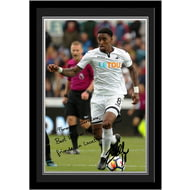 Personalised Swansea City AFC Fer Autograph Photo Framed