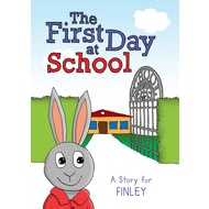 Personalised First Day At School Story Book