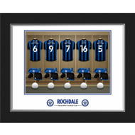 Personalised Rochdale AFC Dressing Room Shirts Photo Folder