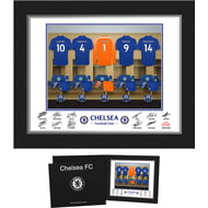 Personalised Chelsea FC Goalkeeper Dressing Room Shirts Photo Folder