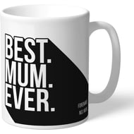 Personalised Derby County Best Mum Ever Mug