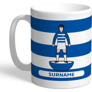 Personalised Queens Park Rangers FC Player Figure Mug