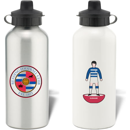 Personalised Reading FC Player Figure Water Bottle