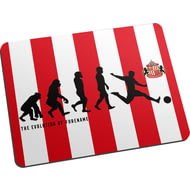 Personalised Sunderland AFC Evolution Mouse Mat