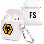 Personalised Wolverhampton Wanderers FC Initials Airpod Case