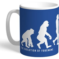 Personalised Leicester City Evolution Mug
