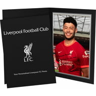 Personalised Liverpool FC Oxlade-Chamberlain Autograph Photo Folder