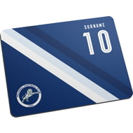 Personalised Millwall Stripe Mouse Mat