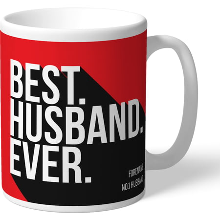 Personalised Sheffield United Best Husband Ever Mug