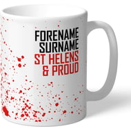 Personalised St Helens Proud Mug