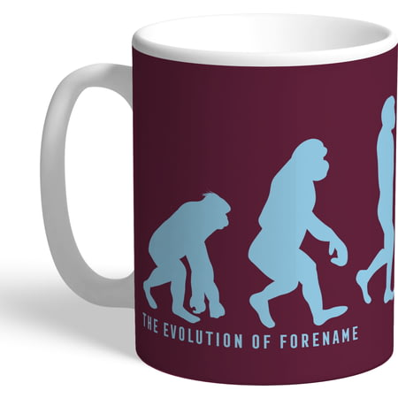 Personalised Burnley FC Evolution Mug