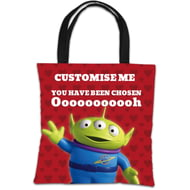 Personalised Toy Story Valentines Alien You Have Been Chosen Tote Bag
