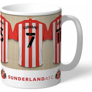 Personalised Sunderland AFC Dressing Room Shirts Mug