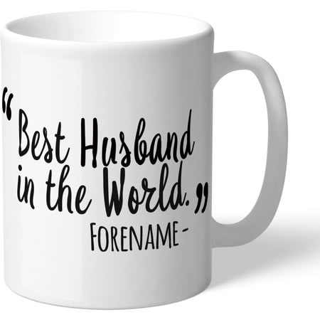 Personalised Swansea City Best Husband In The World Mug