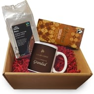 Personalised Coffee Hampers - Traditional Ceramic Mug