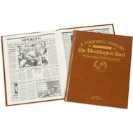 Personalised Philadelphia Eagles American NFL Football Newspaper Book