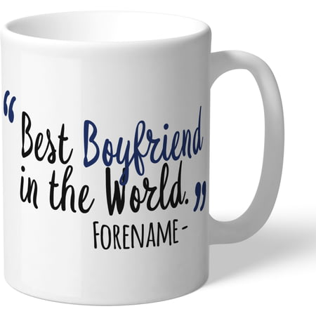 Personalised West Bromwich Albion Best Boyfriend In The World Mug