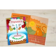Personalised Childs Counting Birthday Book