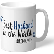 Personalised Bolton Wanderers Best Husband In The World Mug